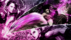 The Chase - Super Street Fighter IV - by Junleashed