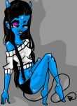 Contest: Blue demon by NanaTHECoyote