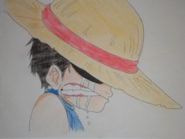 Luffy as a child by ModelingElf