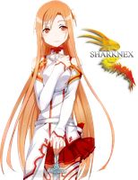 asuna render by sharknex
