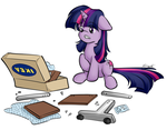 Twilight was not prepared for this by secret-pony
