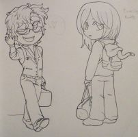 Travelling buddies by UnluckyxSe7en