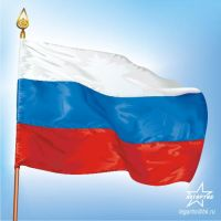 Flag Russia by Legartis