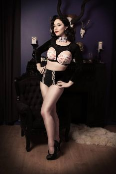 Goth Pin Up 2 by Stephvanrijn