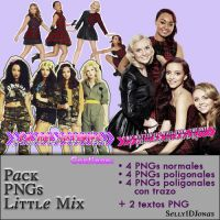 Pack imagenes y textos PNG de Little Mix by Selly1DJonas