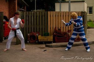 Ryu vs. Cody - Amecon 2012 by BBWF-Tyrant