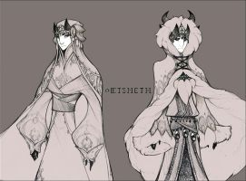 Demons and Other Ilk: Eisheth Formal by dapper-owl