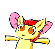 Applebloom animated GIF by KattenFluga