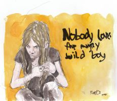 Nobody loves the angry wildboy by Millus
