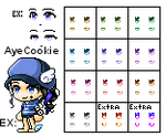 [Maplestory Female Eyes 5] Custom Eyes by Kynchi