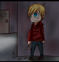 Well hide because i see a flashlight.. by lillysmart12