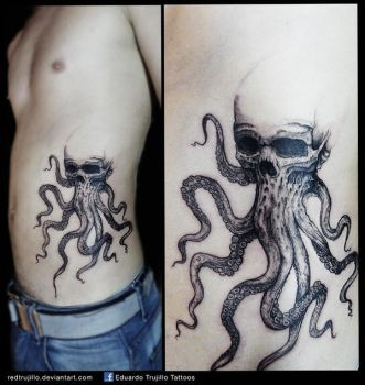 octopus 1st session by redtrujillo