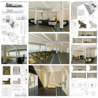 Design of interiors in deconstruction style by leila1605