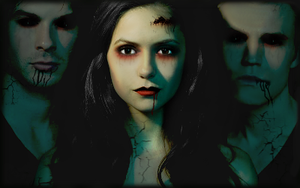 020 - The Vampire Diares Cast by r-adiant