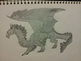 dragon by chriscarter142