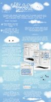Easy Clouds Tutorial by psyAlera