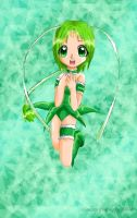 Tokyo Mew Mew: Mew Lettuce by ninetailfoxpuppy