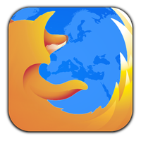 Square Firefox icon by TigerCat-hu