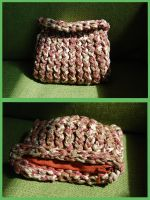 little knitted pouch by were-were-wolfy