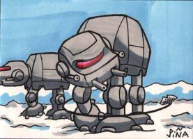 Chibi Star Wars At-At by Sideways8Studios