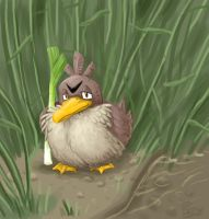 Sleepy Farfetch'd by PixelMecha