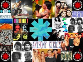 RHCP collage by Saxysmarty