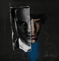 Sherlock: Two Halves. by superfizz