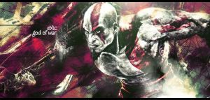 God of war signature by ExExic