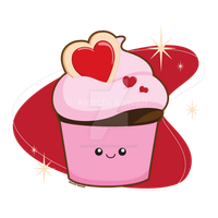 I Heart Cupcakes by kimchikawaii