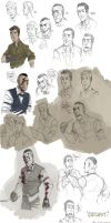 OUTLAST - sketchs 1 by the-evil-legacy