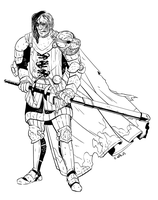 Friday Knights: The Hound by EmilyWalus