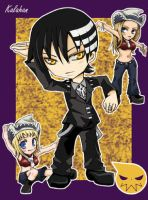 SoulEater : Death the Kid by Kalahan