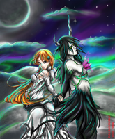 Ulquihime dance with the devil by zelka94