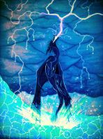 Electrical Color Storm by FoxDragonLover