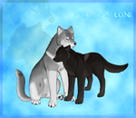 Noir_and_Lone_Points_Comm. by KendaWolf