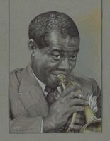 Louis Armstrong by mattlawrencestudio