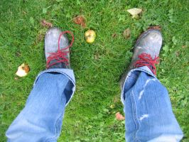 My Boots - aphasia100stock by aphasia100stock