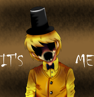 Human Golden Freddy by THEChazzPrince