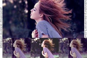 Photoshop Actions - Vintage by halimahrp
