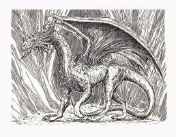 Dragon Ink -2 by EAHowell