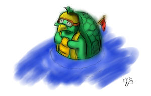 turtle thing, BVpodcast tabletop 29.7.12 by Mik3TheStrange