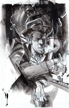 Tom Waits by ChrisVisions