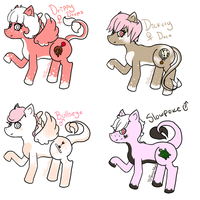 MourningEssence Foals ::CLOSED:: by PansyAdopts