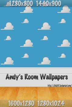 Andy's Room Wallpapers by z3ek147