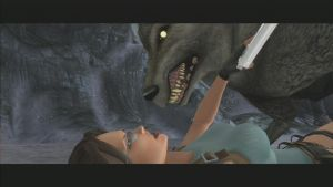 Lara vs Wolf by RumpleTR
