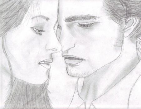 Bella and Edward by Undiscoveredwings