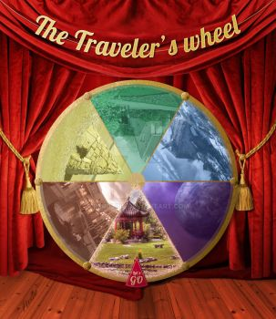 The Traveler's Wheel by peroline