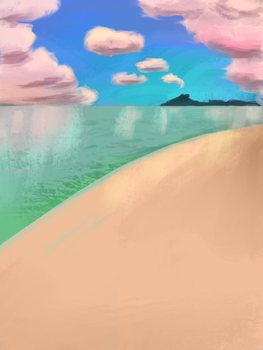 Artificial Clouds Daily Spitpaint by deliatee
