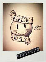 Every day will be a nice day by Eason41