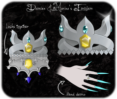 DAMMED: DamRin Emblem by Royal-Jelliefish